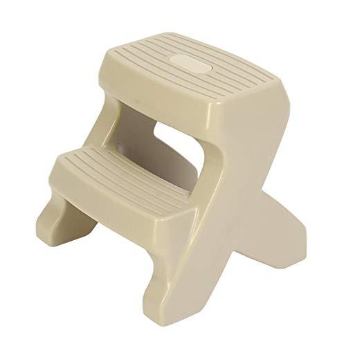 Yxsd 2-traps ladder baby/kinderbadkamer anti-slip kruk van kunststof geschikt voor keuken, badkamer, toilet