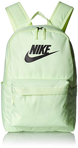 NIKE Heritage Backpack 2.0, Barely Volt/Barely Volt/Black, Misc