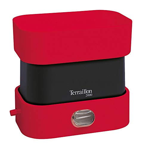 Terraillon Balance de Cuisine, Portée 2kg, BA2000 Vintage, Rouge