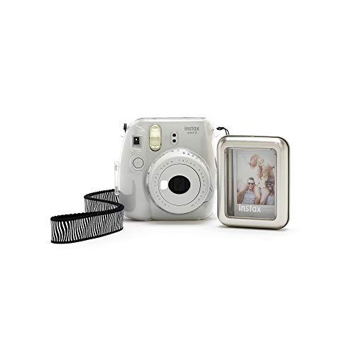 Fujifilm instax Mini 9 Clear Accessory Bundle, transparent