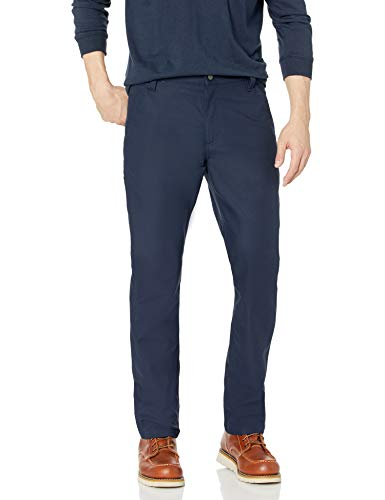 Carhartt Herren Rugged Professional Stretch Canvas Pants, Navy, W32/L34