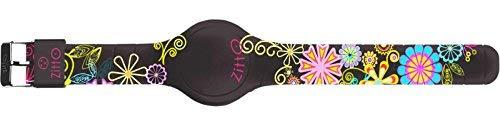 Orologio ZITTO grande a led con cinturino in silicone Limited Edition BLACK&FLOWER G