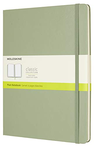 Moleskine Notizbuch Xlarge, Blanko, Hard Cover, Weidengrün