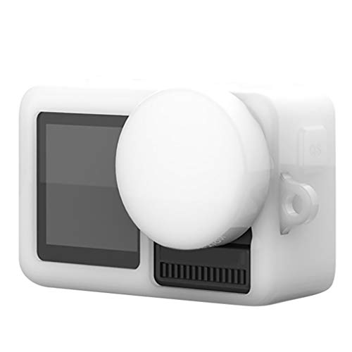 HSKB siliconen hoes case beschermhoes met handheld Lanyard voor DJI OSMO Action Camera Protective Accessoires Shell antislip