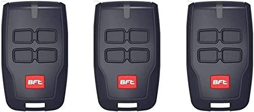3X BFT MITTO B RCB04R1handsender 4canali Telecomando 433.92MHz. Rolling Code. La nuova versione di BFT MITTO4. 3pezzi per il migliore prezzo.