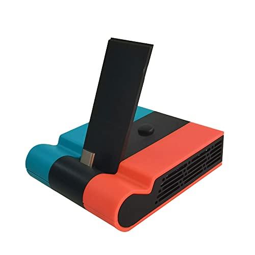 Estación de Acoplamiento de 3 Puertos para Nintendo Switch, Adaptador de concentrador USB HDMI Tipo C, Mini Cargador portátil