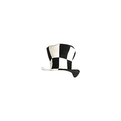 Checkered Mad Hatter Top Hat
