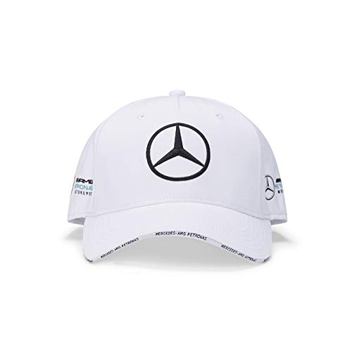 Mercedes-AMG Petronas Gorra de béisbol Unisex Team BB, Color Blanco,