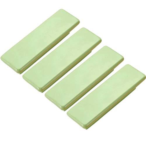 FBSHOP(TM) 4pcs Grün 64mm Holz Schrankgriff Schrankknöpfe Möbelknöpfe Schubladenknöpfe Möbelgriffe, Knauf für Schrank, Schublade