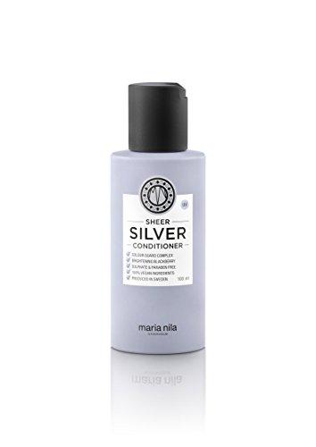 Preisvergleich Produktbild Maria Nila Sheer Silver Conditioner,  1er Pack (1 x 100 ml)