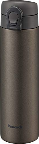 ピーコック魔法瓶工業 マグボトル ブラウン 0.5L ステンレスボトル マグタイプ AKF-50 T