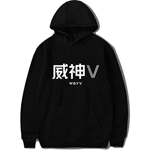 Fittrame NCT WayV Merchandise Hoodie Pullover Kpop Kleidung Sweatshirt, Stil 5, Small