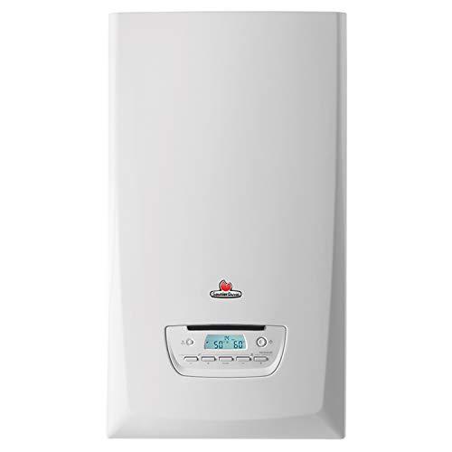 Caldera mixta de condensación a gas Thermafast Condens 25-A, potencia de 19, 6 kW en calefacción, 25, 5 kW en ACS, 74 x 41, 8 x 34, 4 centímetros (referencia: 12021495)
