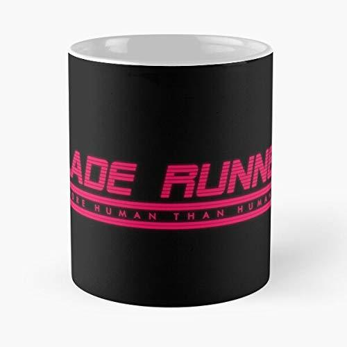 Desconocido Bladerunner Cyberpunk Runner Retro 1980S 2049 80S VHS Blade Taza de café con Leche 11 oz