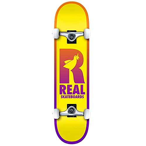 Real Be Free Medium Factory - Skateboard completo multi 7,7 pollici