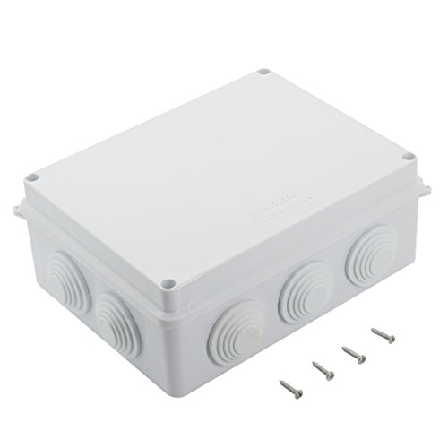 "Amazon.com - IP65 Project Box Enclosure, 7.9""x 6.1"" x 3.1"" 200mm x 155mm x 80mm"