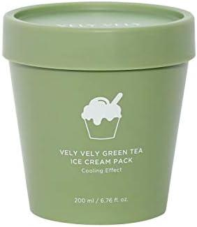 Vely Vely Green Tea Ice Cream Pack (200 ml/6.76 fl oz)