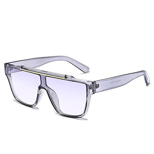 RWDMFC Gafas de Sol para Hombre Gafas Polarizadas Vintage ProteccióN Uv400 Marco de Acetato para conducir Viajar-C9