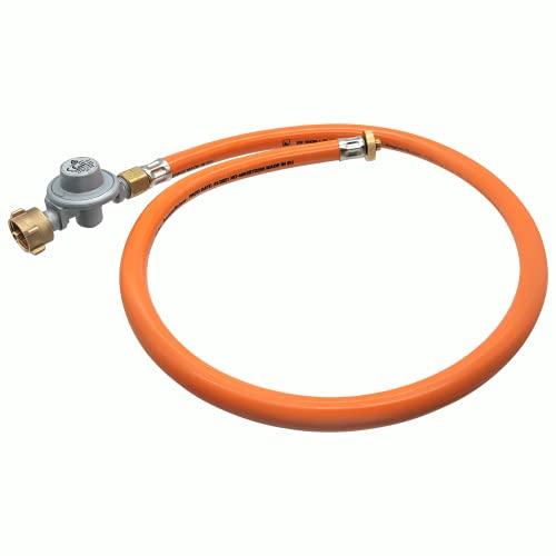 BOGAPRO Adapter-Schlauch mit Gasregler zum Nutzen Einer Gasflasche