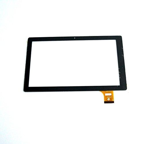 EUTOPING ® Schwarz Farbe 10.1 Zoll Touchscreen - digitizer Alternative für Denver TAQ-10153