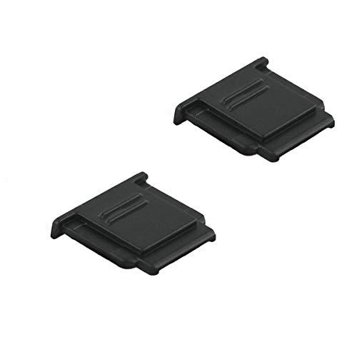 LXH 2 STÜCKE Blitzschuh-Abdeckkappe für Sony A6500 A6300 A6000 a9 a77II Ersetzt Sony FA-SHC1M Überschuhe