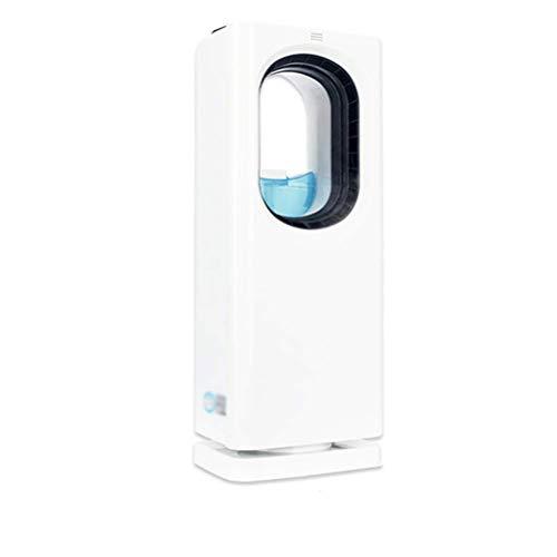 DSDD Tragbarer Luftkühler mit Fernbedienung, leiser, blattloser elektrischer Lüfter, Verdunstungskühler, 3-stufige Einstellung 8-Stunden-Timer für das Home-Office-Schlafzimmer