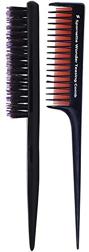 Spornette Teasing Brush & Comb Set - Includes Little Wonder Boar &...