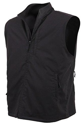 Rothco Undercover Travel Vest, Black, Large