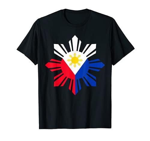 Philippine Flag T-Shirt Pinoy Flag Filipino Shirt Pinoy Sun
