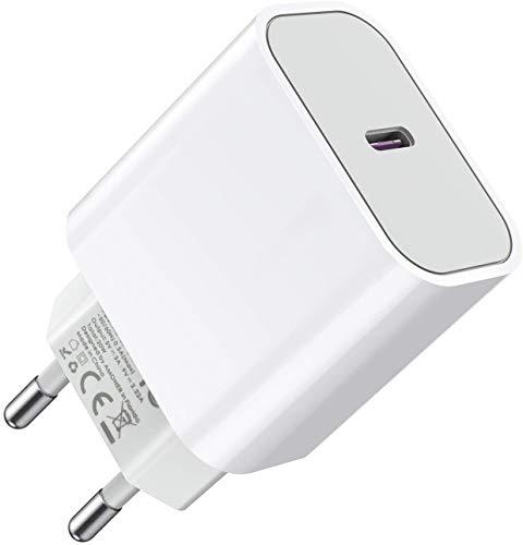 Everdigi Chargeur USB C 20W Power, Chargeur Secteur, Chargeur USB Type c Mural pour Phone 12 Pro Max Se 2020, Pad Pro, ArPods Pro