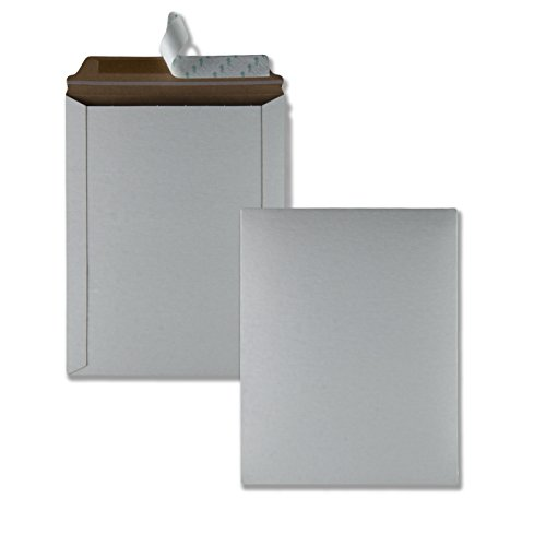 Quality Park Photo/Document Mailer, Redi-Strip, White, 9.75x12.5, 25 per box (64015)