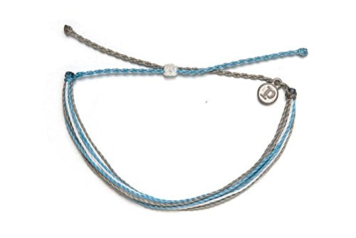 Pura Vida Shark Tank Bracelet - Handcrafted with Iron-Coated Copper Charm - Wax-Coated, 100% Waterproof