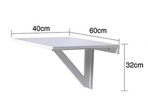 MJY Tisch Schreibtisch Computertisch Kindertisch Klappbarer Wand-Esstisch, Esstisch Wand-Esstisch Studiertisch Computertisch Wandtisch Klapptische,Honigfarbe