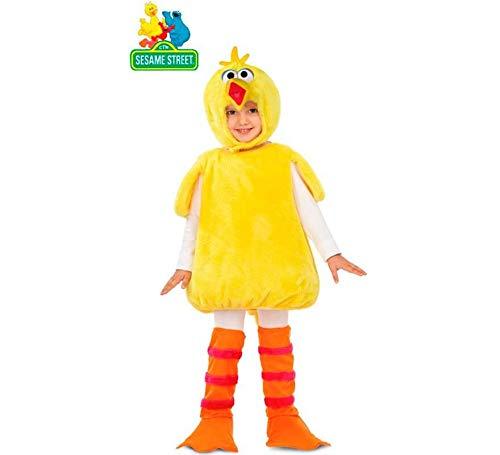Barrio Sésamo Disfraz Peluche de Gallina Caponata para niños y bebé