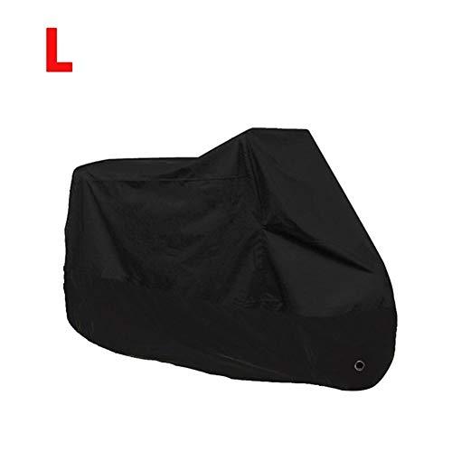 Universele motorafdekking 5 zwart maat M L XL 3XL 4XL voor waterdichte stofdichte fiets scooter buitenshuis UV-bescherming MTB Bike B