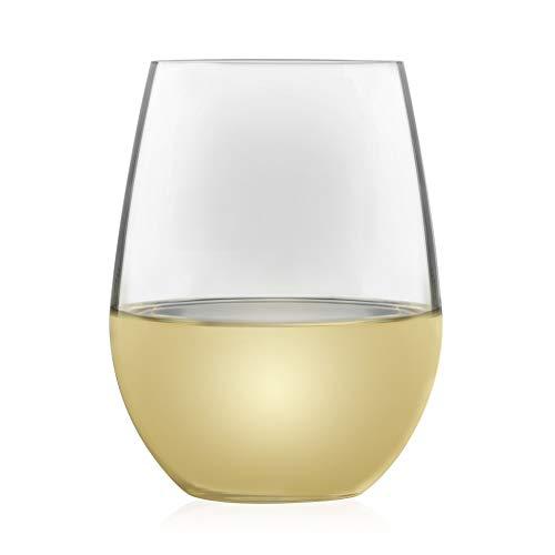 Libbey Signature Kentfield Estate All-Purpose Stemless Wine Glasses, Set of 4