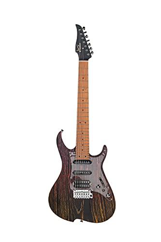 Vola MIJ - Guitarra eléctrica Vola OZ7 RV ROA OGD torreado mango...