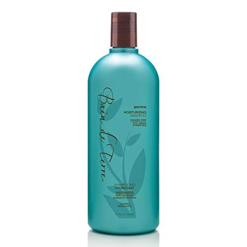 Bain de Terre Jasmine Moisturizing Shampoo, with Argan and Monoi Oil, Paraben-Free, 33.8-Ounce