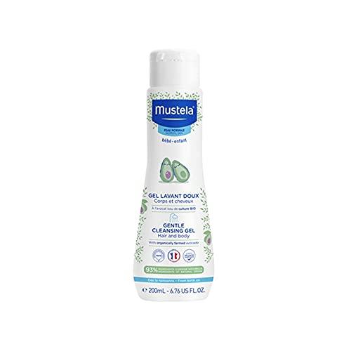 Mustela BÉBÉ gentle cleansing gel hair and body 200 ml
