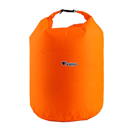LLY Outdoor Dry Sack Floating Waterproof Bag 40L/70L for Boating, Kayaking, Hiking, Snowboarding, Camping, Rafting, Fishing and Backpacking(Orange 70L)