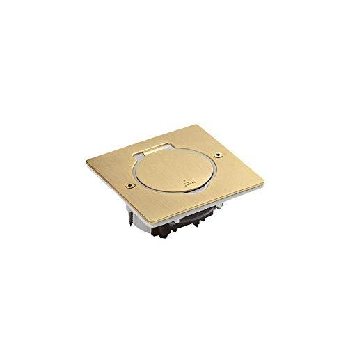 Legrand cajas de suelo - Caja suelo 2 módulos ip44 bronce