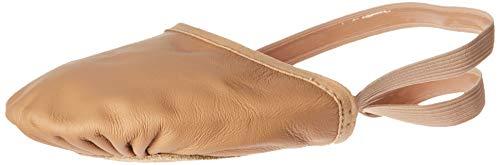 Bloch Women's Eclipse Leather, Nude, Medium