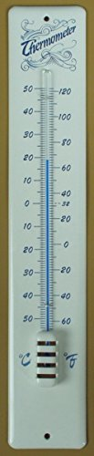 Emaille Email Thermometer Hauswandthermometer