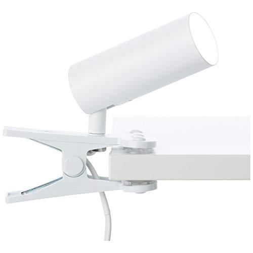 Soeren LED Klemmleuchte weiß matt
