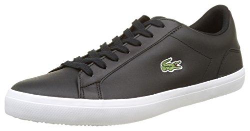 Lacoste Herren Lerond BL 1 CAM Sneaker, Black, 48 EU