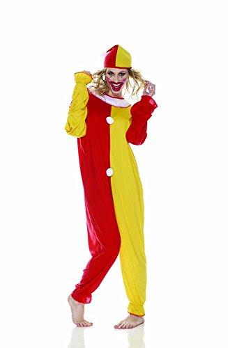 Rubie's IT30308-M - Clown Costume, Adulto, Taglia M