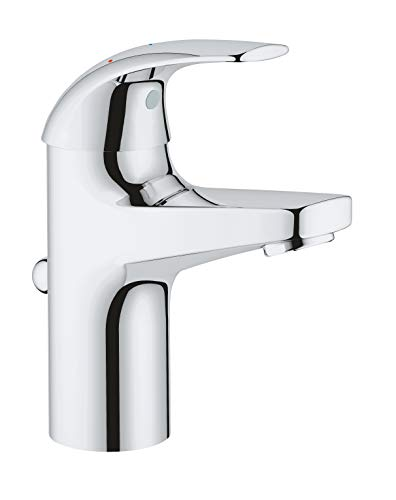 Grohe Start Curve Mezclador monomando de lavabo, 1/2' Tamaño S