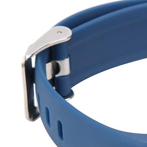 Ong Pulsera Deportiva, Smartband de monitoreo Corporal Duradero para un Estilo de Vida Saludable(Blue, Pisa Leaning Tower Type)