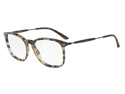 Giorgio Armani 0AR8098V Monturas de gafas, Blue Havana, 54 para Hombre