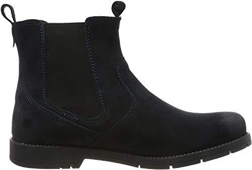 lumberjack Herren Carson Chelsea Boots, Blau (Universe Blue Cc026), 45 EU